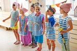 Детский праздник в морском стиле
