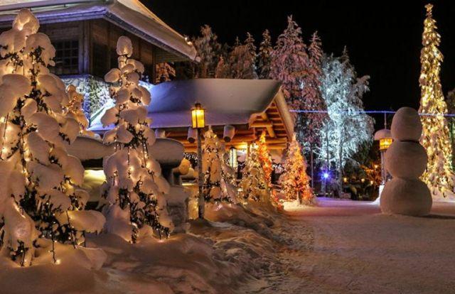 Новый год в деревне