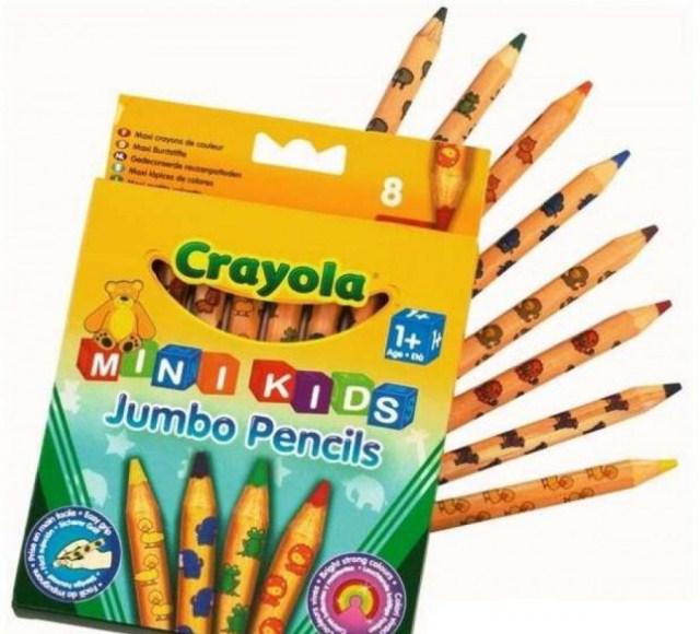 Набор толстых карандашей