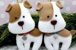 Поделки на Новый год Собаки
