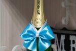 Украшение шампанского своими руками