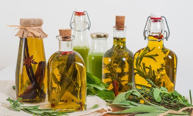 Набор растительных масел