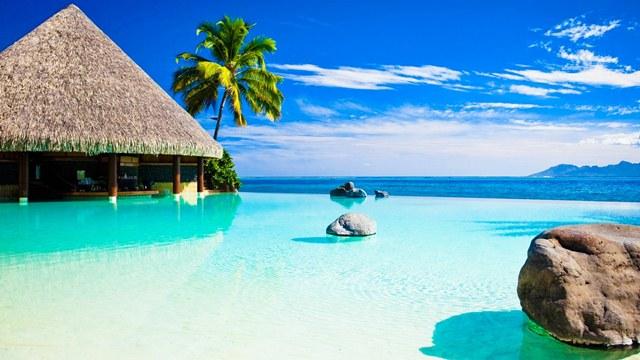 Путешествие на теплые острова