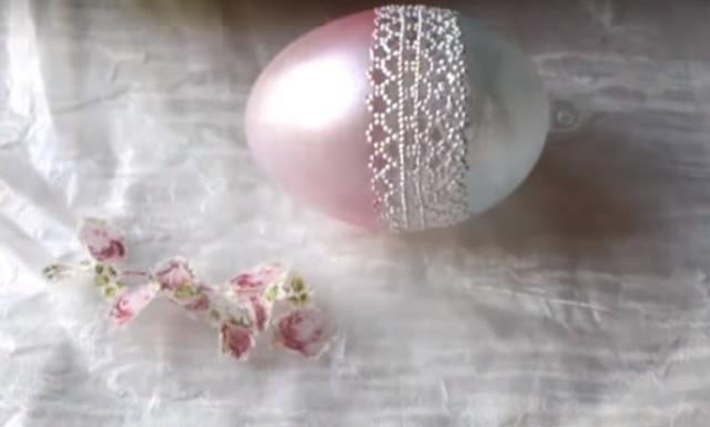 Красивый декупаж яиц