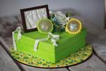 Красивый торт на 1 годик мальчику