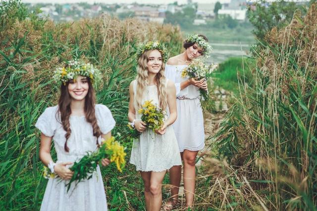 Свадьба в стиле рустик летом