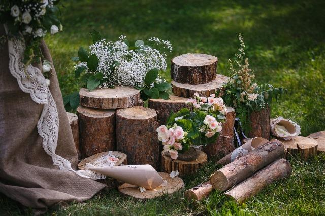 Темы и цвет свадьбы летом