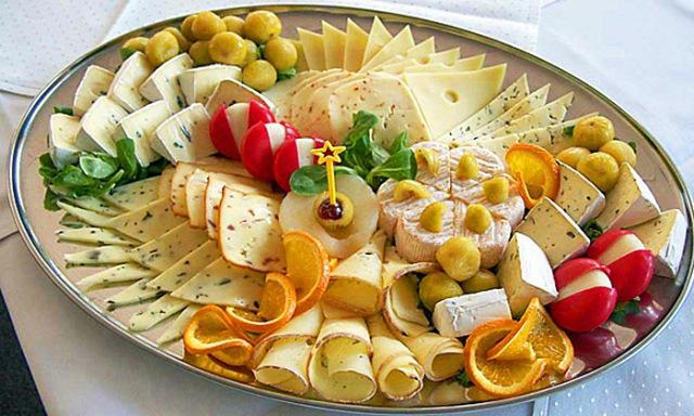 Сырные тарелки