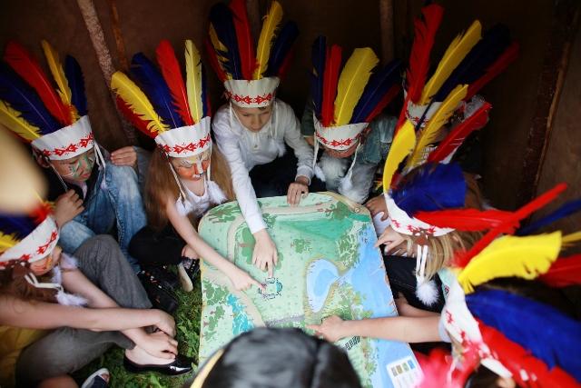 Резервация индейцев