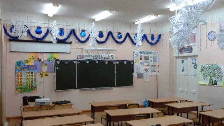 Украшаем класс в школе к Новому 2019 году Свиньи своими руками