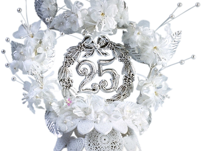Атрибут серебряной свадьбы