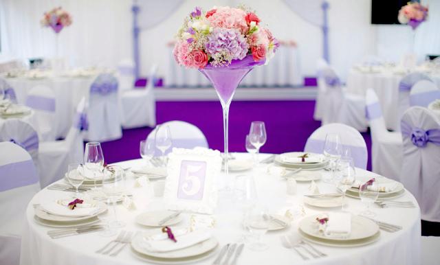 Атрибуты лавандовой свадьбы