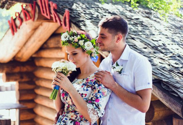 1 годовщина свадьбы картинка