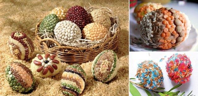 Необычные яйца в подарок на Пасху
