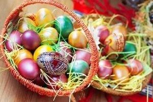 Традиционные подарки на Пасху