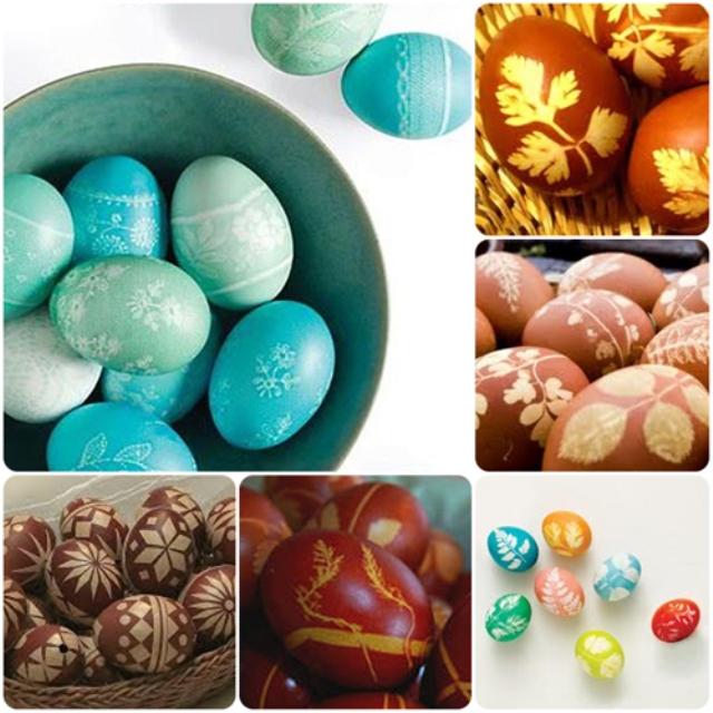 Яйца с рисунками