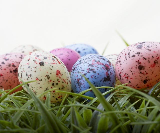 Яйца в крапинку