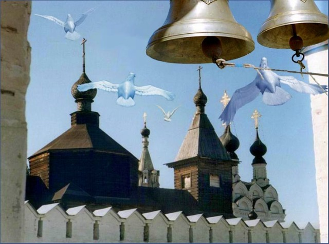 Звон колоколов на Пасху