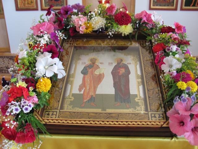 Икона Петра и Павла