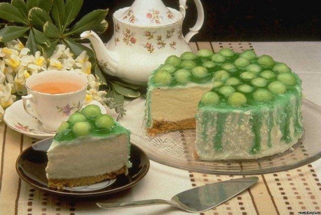 Чаепитие с тортом