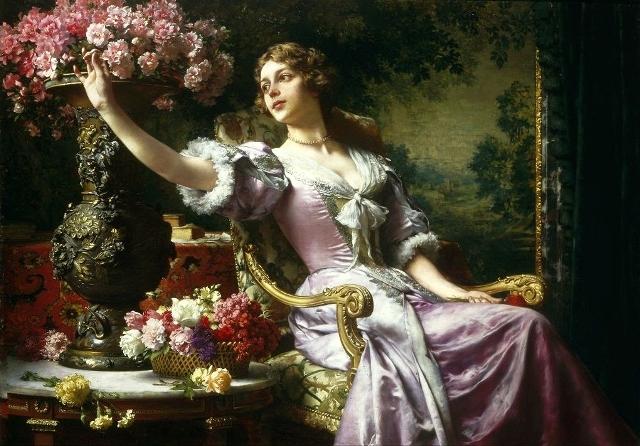 Цветы в 17 веке