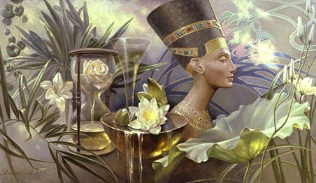 Цветы в Египте