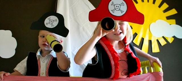 Оригинальная пиратская вечеринка
