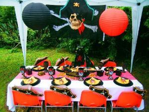 Пиратская вечеринка для детей оформление
