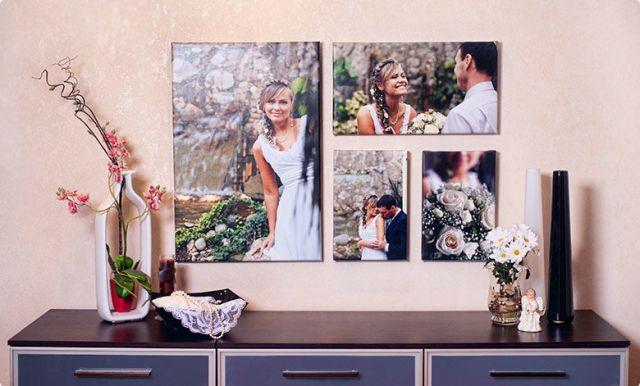 Подарки на свадьбу картины и предметы интерьера