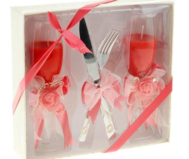 Свадебные подарки ножи вилки