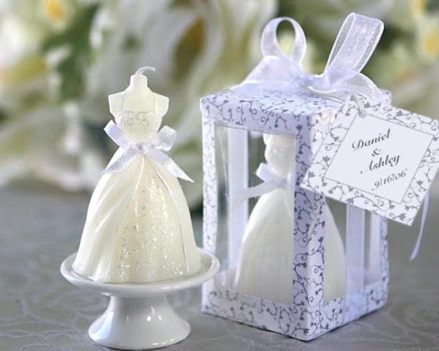 Свадебные подарки свечи