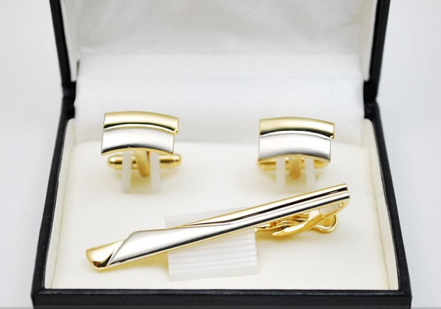 Свадебные подарки запонки, зажимы для галстуков