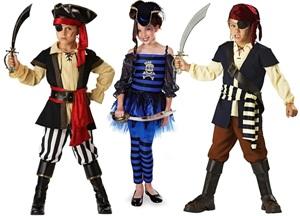 Пиратская вечеринка для детей костюмы