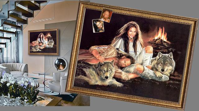 Семейная картина