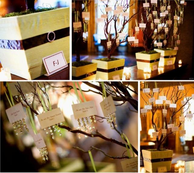 Свадебное дерево с подарками