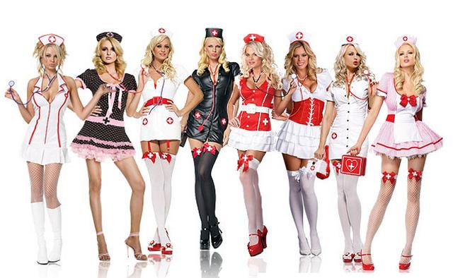 Костюм медсестры на Хэллоуин
