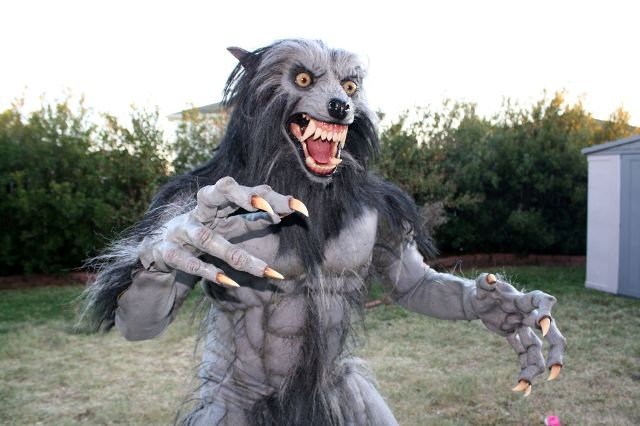 костюм оборотня на Хэллоуин