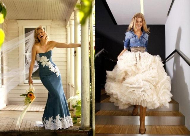 Укороченное платье