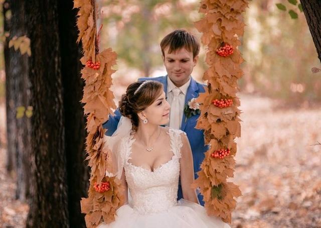 Свадьба в ноябре: идеи для фотосессии