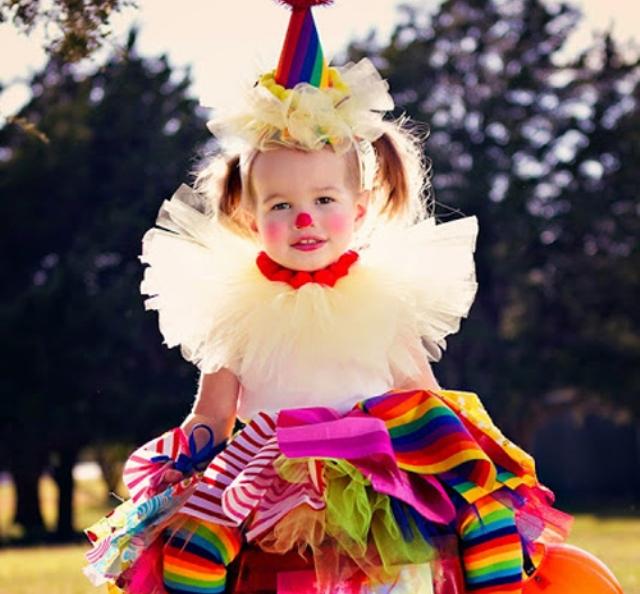 Костюм клоуна на Хэллоуин