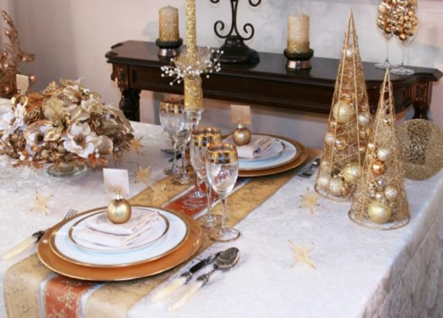 Яркие украшения стола