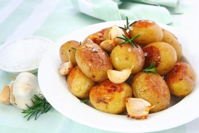 картофель на сочельник