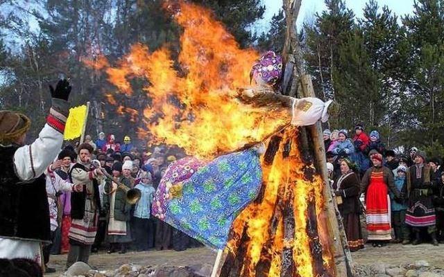 Земледельческие ритуалы на Масленицу
