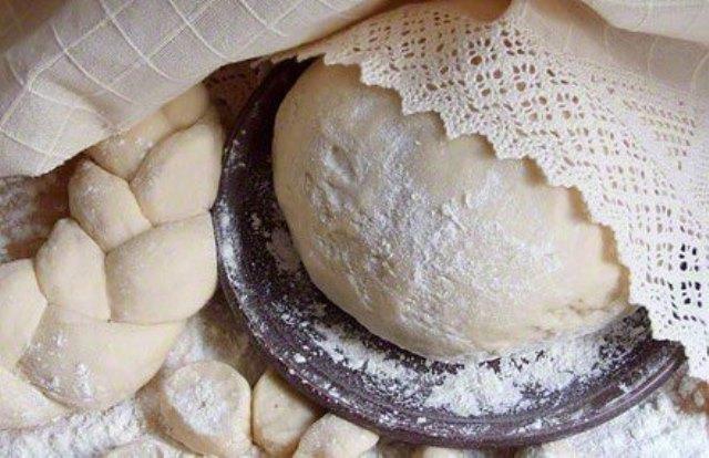 Дрожжевое постное тесто для пирожков