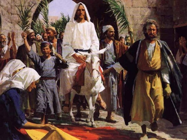 Встреча Иисуса в Иерусалиме