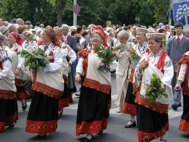 Пасха в Латвии