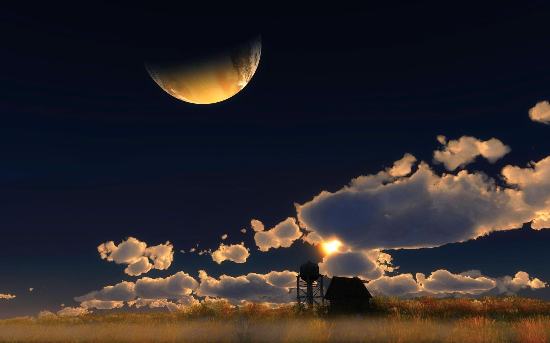Июнь ночь