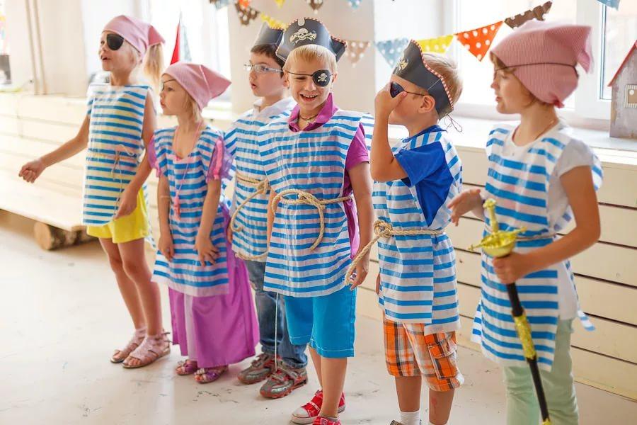 дети на морской вечеринке