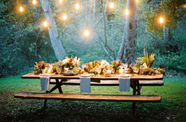 Декор уютной свадьбы