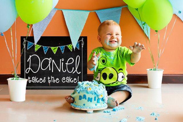 День рождения 1 год